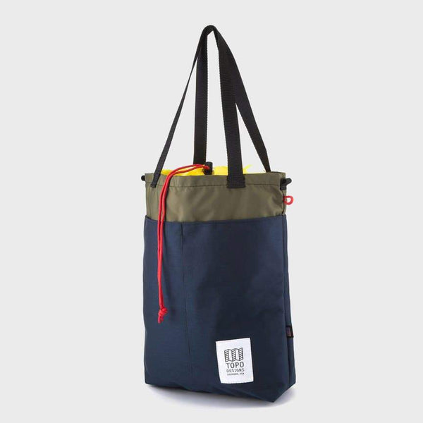 product: Topo Designs Cinch Tote Navy