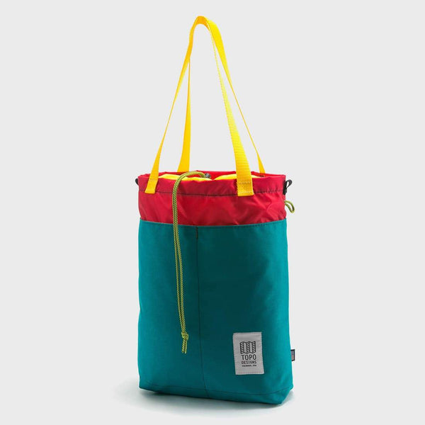 product: Topo Designs Cinch Tote Turquoise