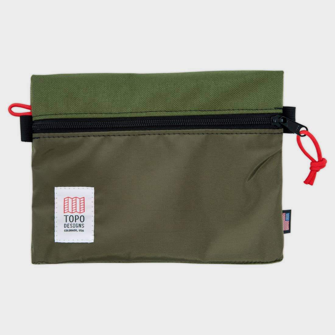 Topo Designs Accessory Bag Medium Olive