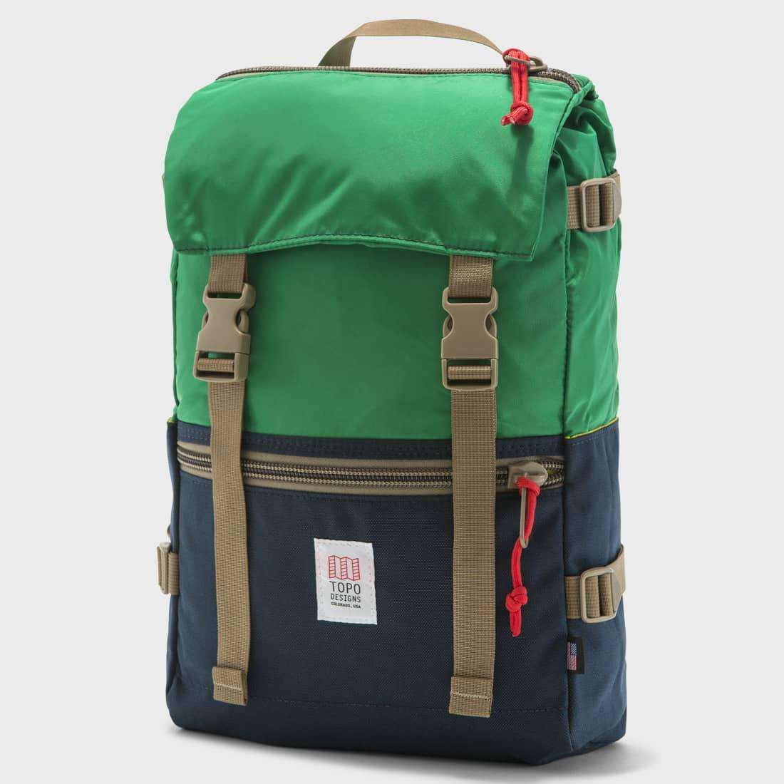 Topo Designs Rover Pack Kelly / Navy
