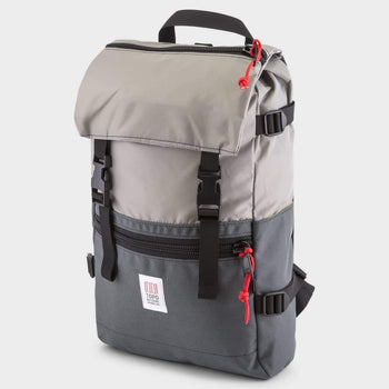 product: Topo Designs Rover Pack Silver / Charcoal