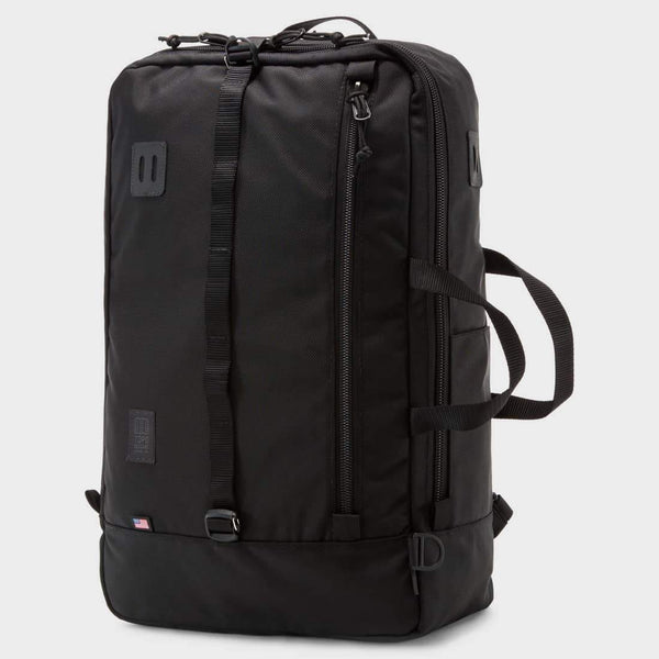 product: Topo Designs Travel Bag Ballistic Black