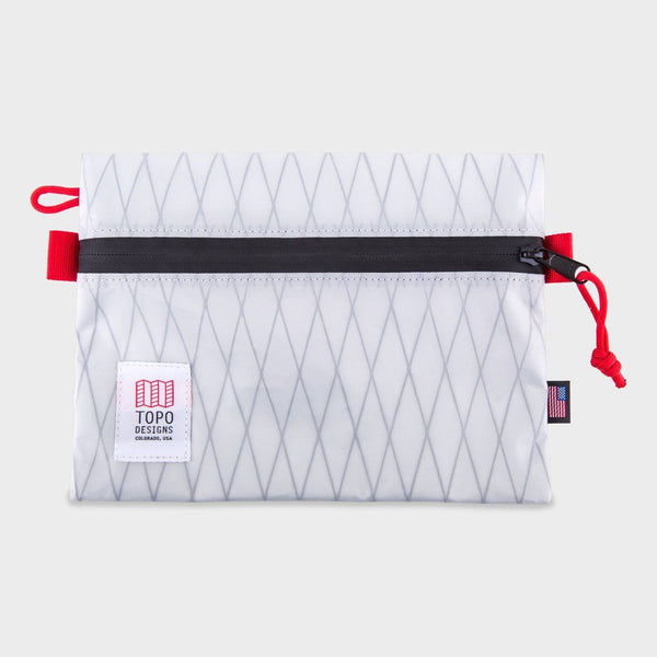 product: Topo Designs Accessory Bag Medium X-Pac White