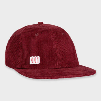 product: Topo Designs Corduroy Cap Burgundy