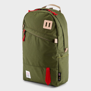 product: Topo Designs Daypack Backpack Olive