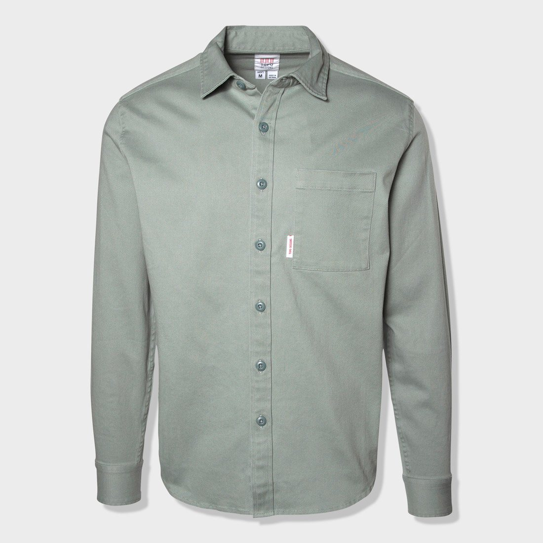 Topo Designs Dirt Shirt Stone