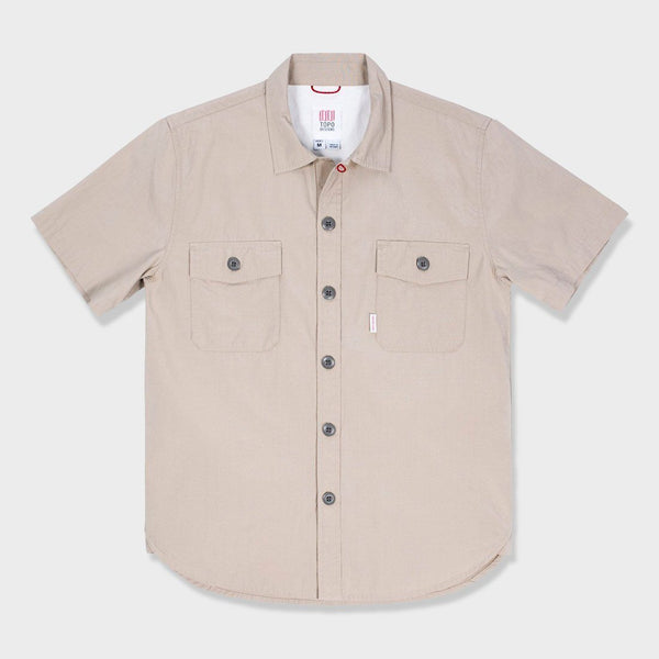 product: Topo Designs Field T-Shirt Warm Gray