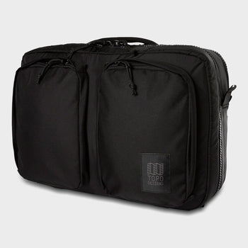 product: Topo Designs Global Briefcase 3-Day Ballistic Black
