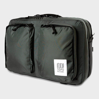product: Topo Designs Global Briefcase 3-Day Charcoal