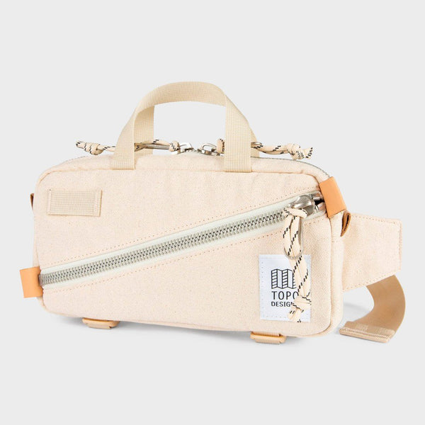 product: Topo Designs Mini Quick Pack Natural Canvas