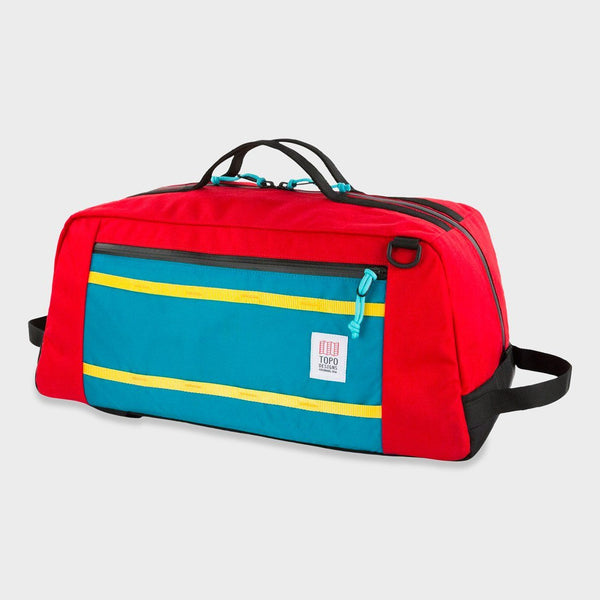 product: Topo Designs Mountain Duffel 40L Red