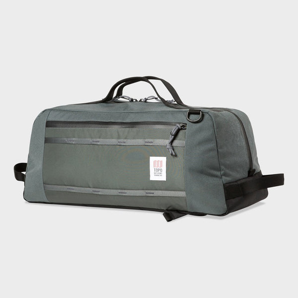 product: Topo Designs Mountain Duffel 40L Charcoal