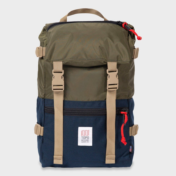 product: Topo Designs Rover Pack Olive/ Navy
