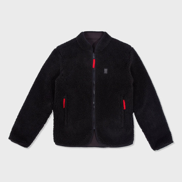 product: Topo Designs Sherpa Jacket Black