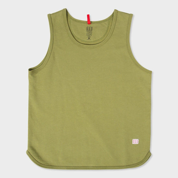 product: Topo Designs Women's Military Tank Moss