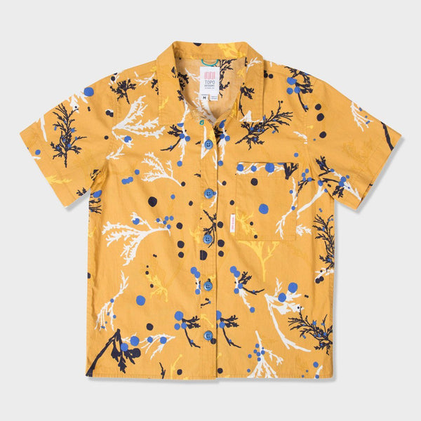 product: Topo Designs Women's Tour Shirt Mustard