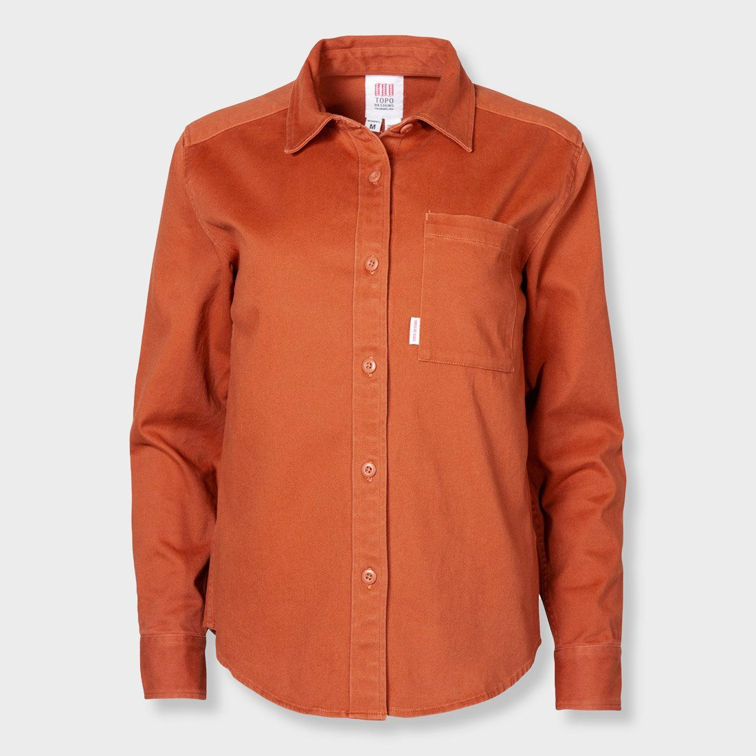 Topo Designs Women's Dirt Shirt Clay