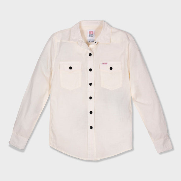 product: Topo Designs Women's Mountain Shirt Natural