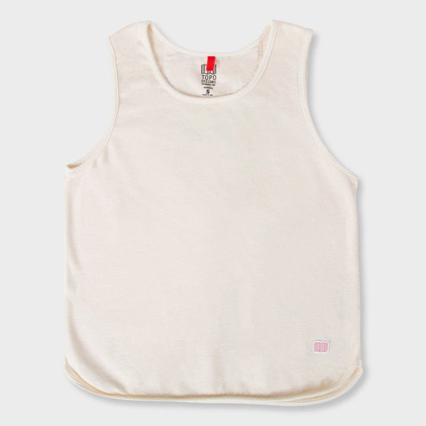 product: Topo Designs Women's Military Tank Natural