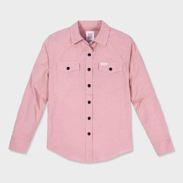 product: Topo Designs Women's Mountain Shirt Lightweight Haze