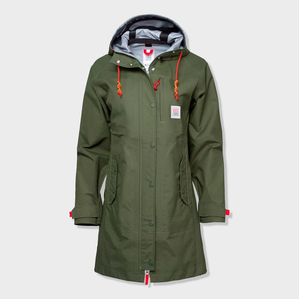 product: Topo Designs Women's Tech Trench 3L Olive