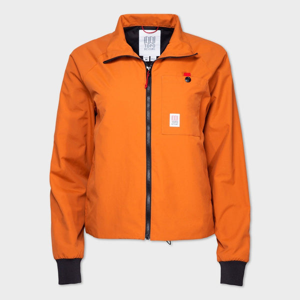 product: Topo Designs Women's Wind Jacket Clay