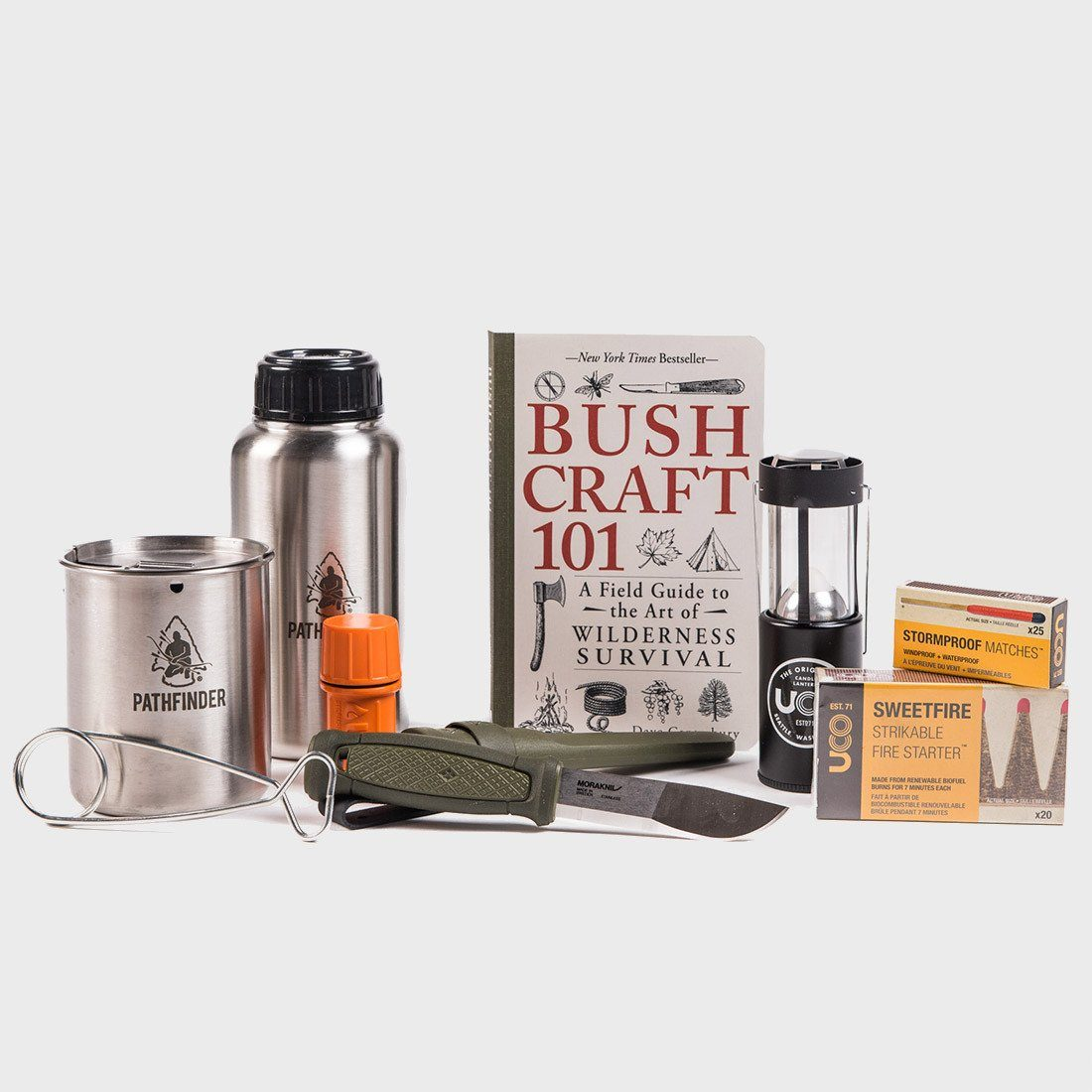 UCO Bushcraft Survive & Thrive Kit