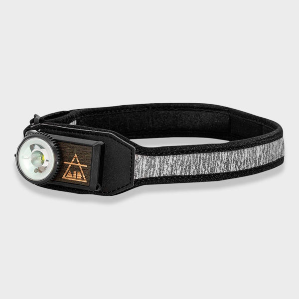 product: Uco Gear Air Headlamp Reflective Grey