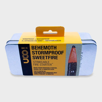 product: Uco Gear Behemoth Stormproof Sweetfire 9pk Silver