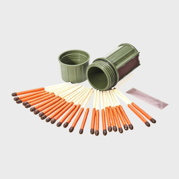 product: UCO Match Container with Matches Dark Green