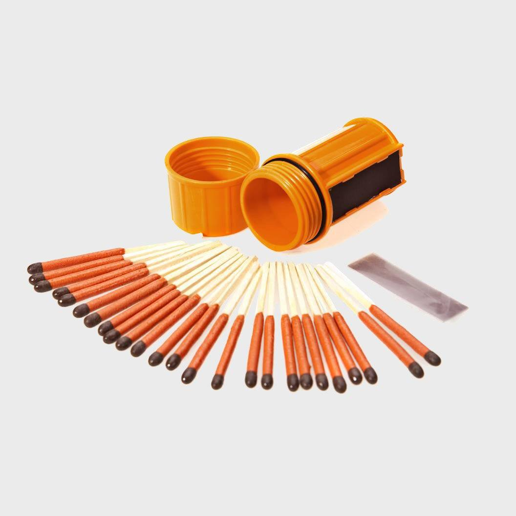 UCO Match Container with Matches Orange
