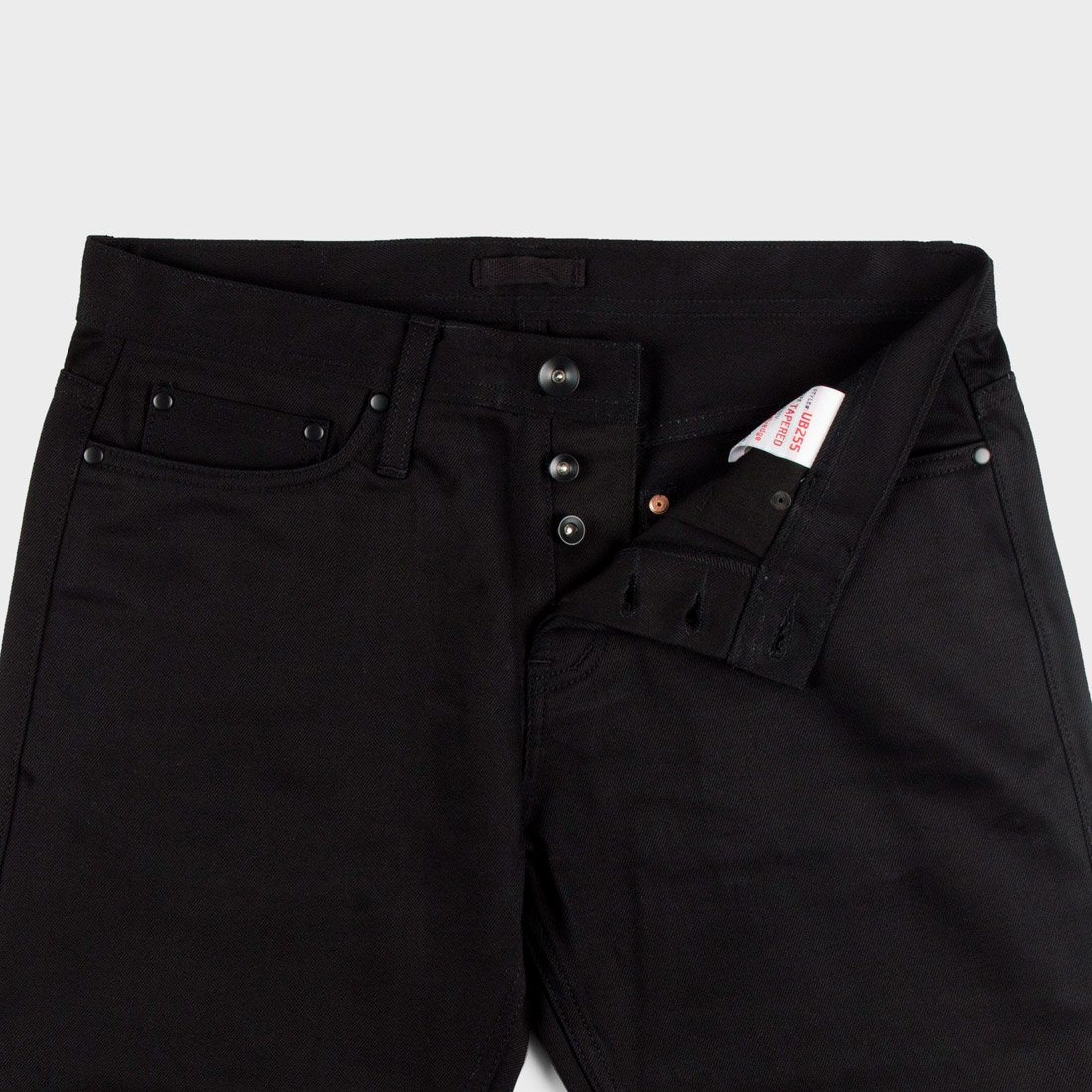 d514cff327 Unbranded Tapered 12.5oz Selvedge Chino Black – Wayward