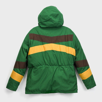 product: Vintage Black Bear Down Jacket Green