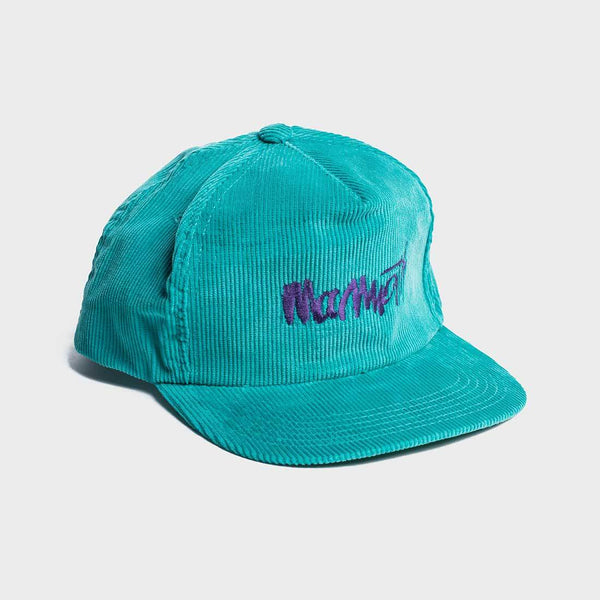 product: Vintage Ski Resort Mammoth Cord Hat Teal