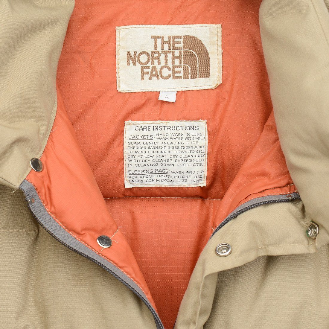 5df283235fd Vintage 70's The North Face Brown Label Backpack Camping .