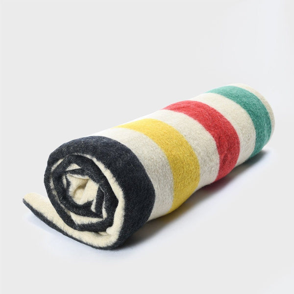 product: Vintage Hudson Bay Style Wool Blanket