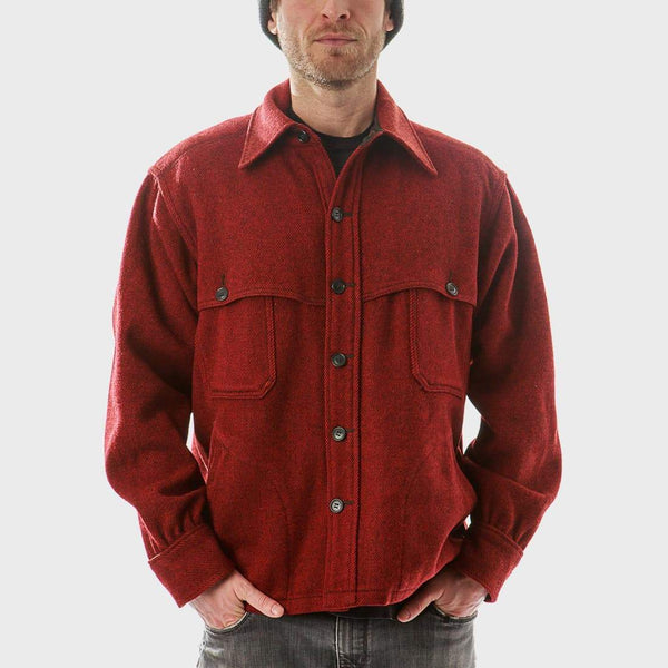 fca0d35139a product  Vintage Woolrich Wool Jacket Red