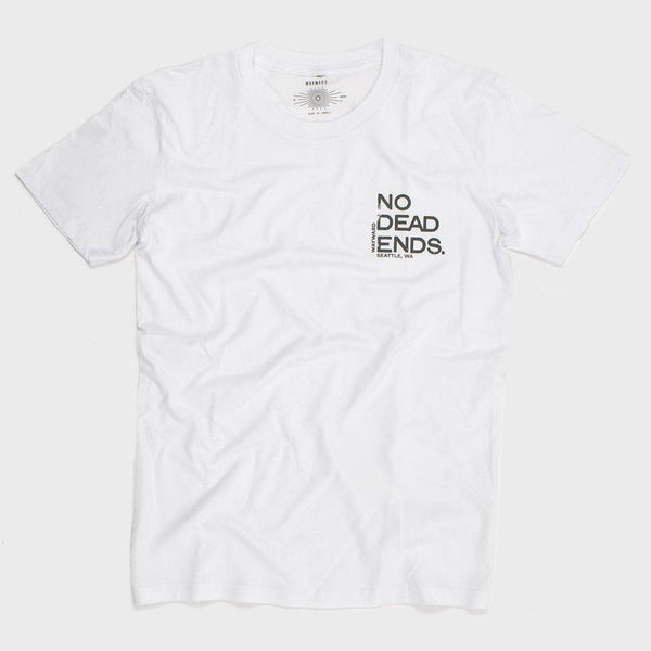 product: Wayward No Dead Ends Tee White