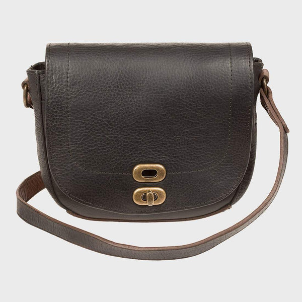 product: Will Leather Goods Mini Seneca Crossbody Black