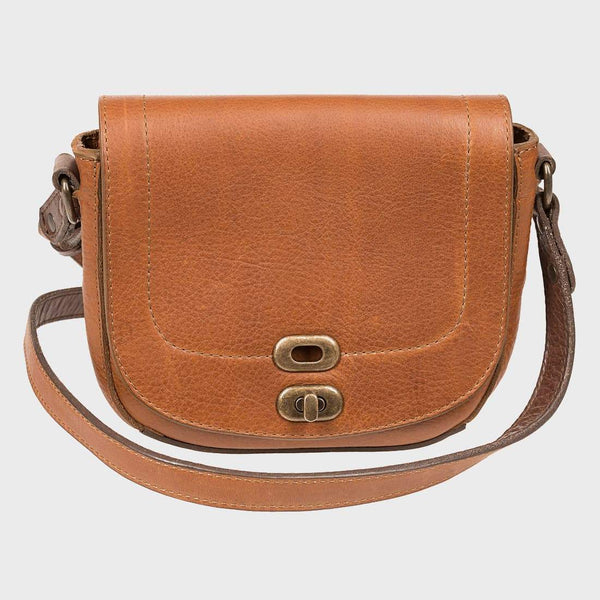 product: Will Leather Goods Mini Seneca Crossbody Tan