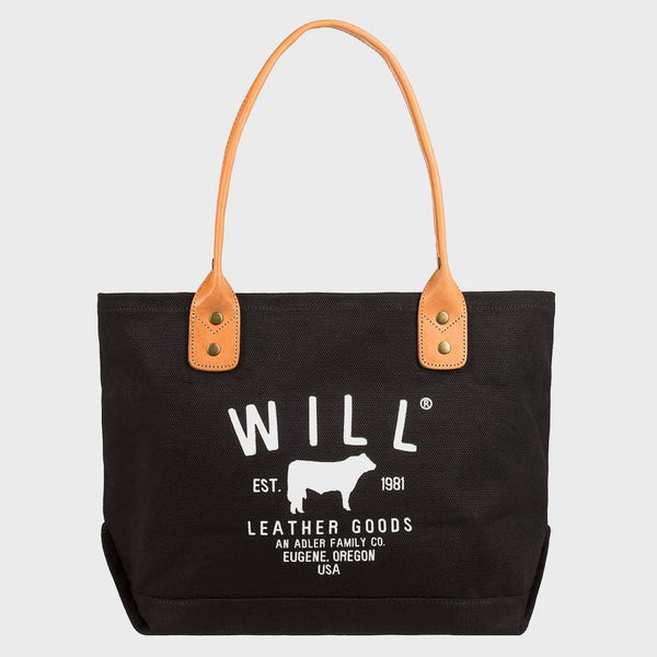 product: Will Leather Goods Classic Carryall Black
