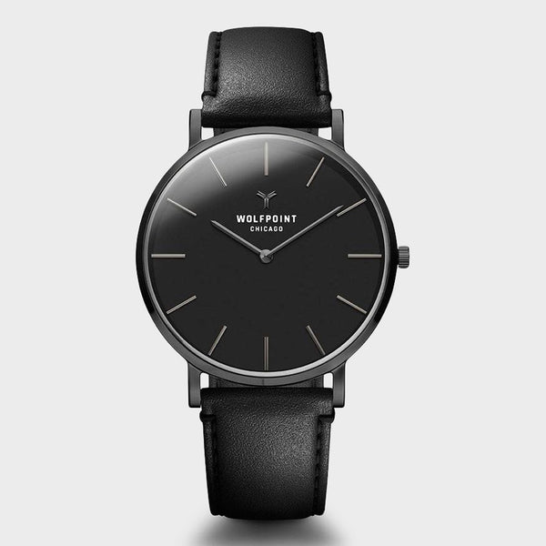 product: Wolfpoint Wayne Watch Gunmetal Stainless Steel