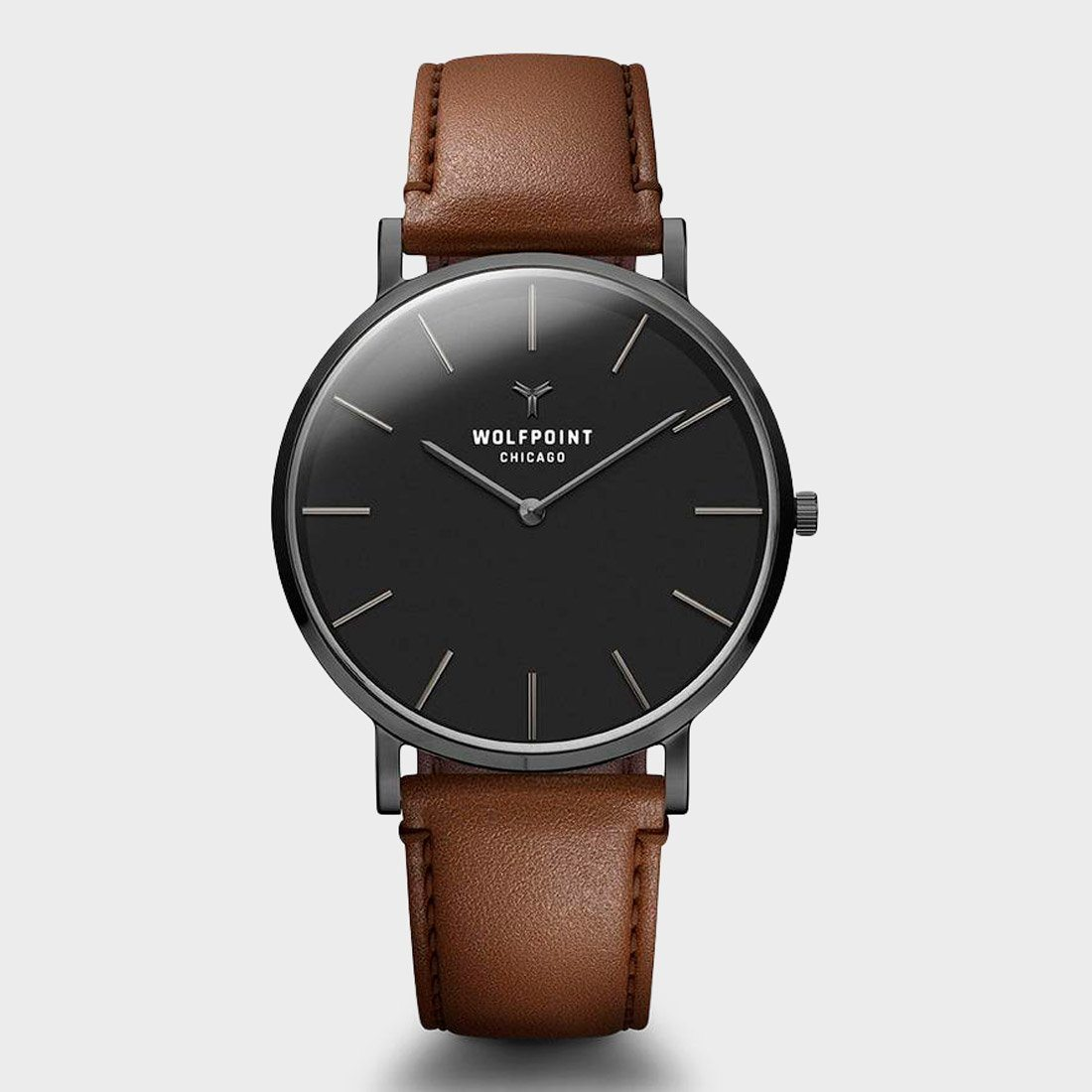 Wolfpoint Yates Watch Gunmetal Stainless Steel