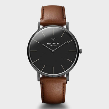 product: Wolfpoint Yates Watch Gunmetal Stainless Steel