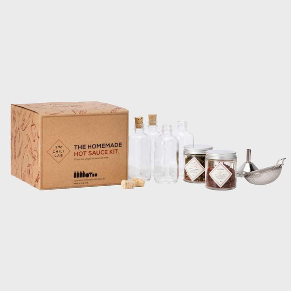 product: W & P Design The Homemade Hot Sauce Kit