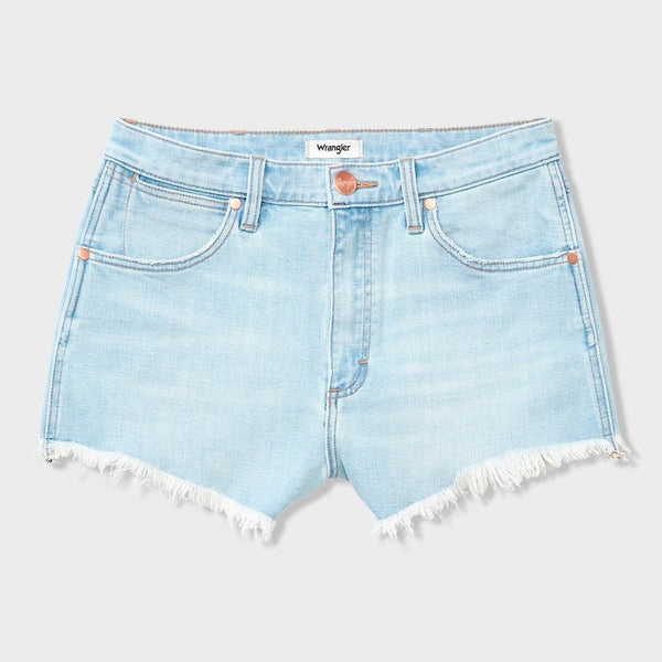 product: Wrangler Women's Cut Off Shorts Leo