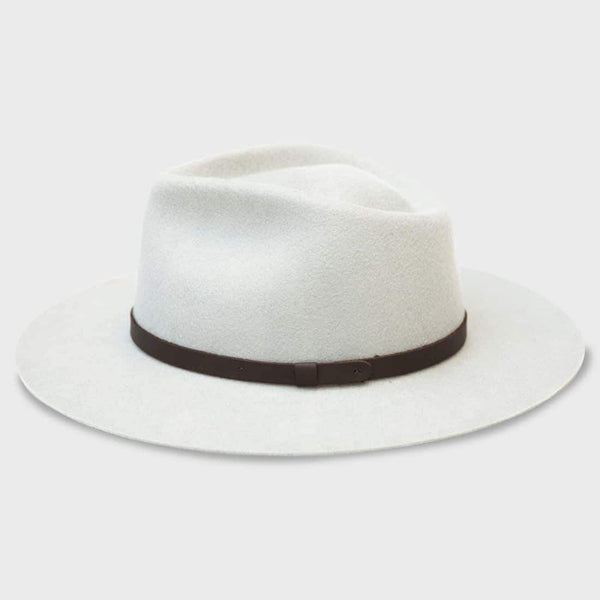 product: Yellow 108 Dylan Fedora Bone