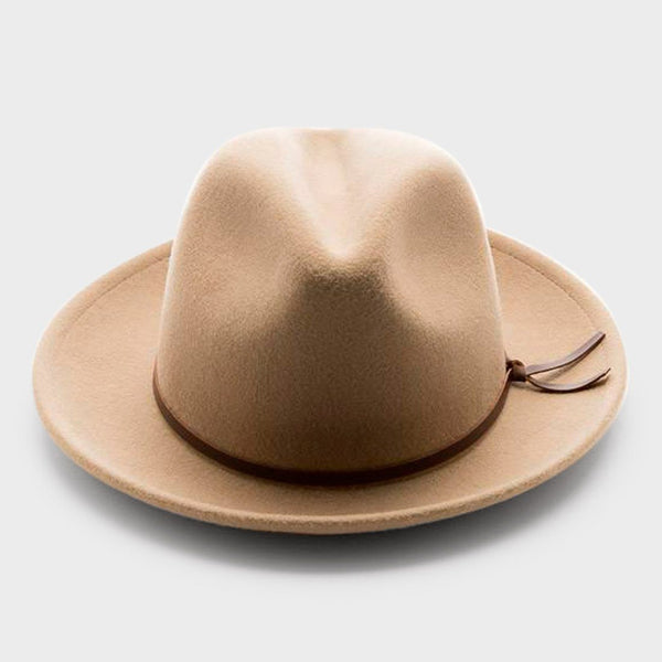 product: Yellow 108 Luke Fedora Putty