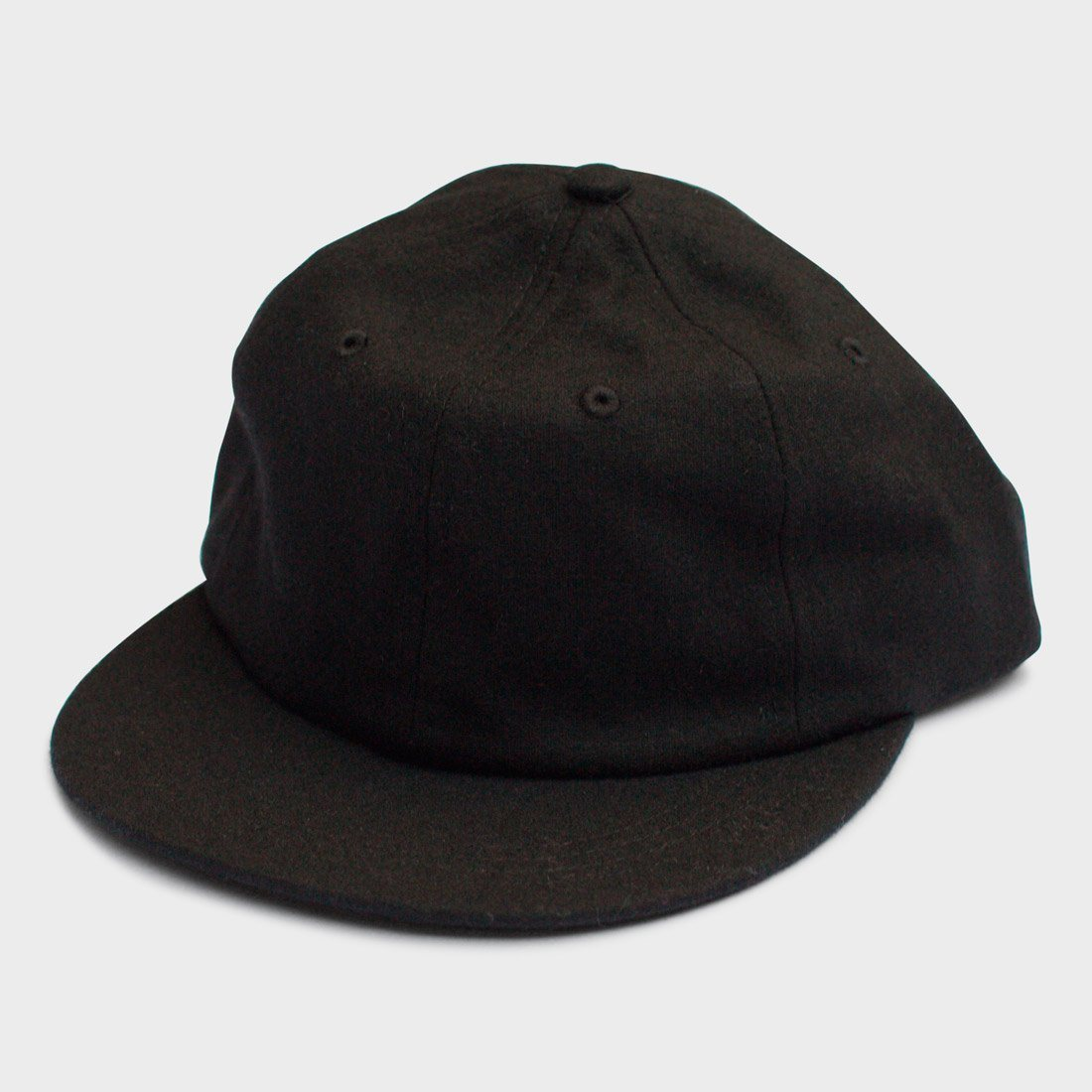 Yellow 108 Parker Cap Black Wool