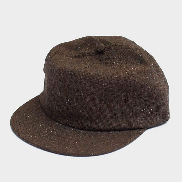 product: Yellow 108 Reel Ball Cap Brown Wool